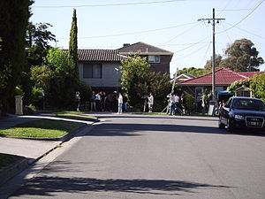 Neighbours - Pin Oak Court, Vermont South, the filming location used to represent the fictional Ramsay Street in Neighbours