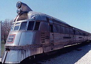 Streamliner cars (rail) - The Pioneer Zephyr