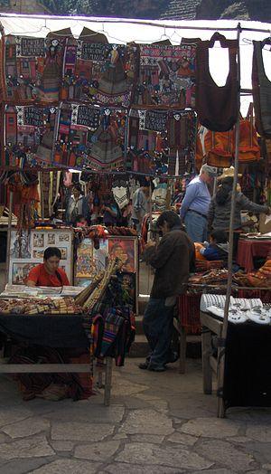 Písac - Image: Pisac Market