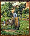 Pissarro - A Washerwoman at Eragny.JPG
