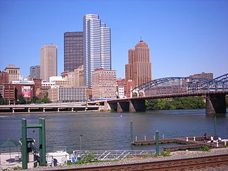 Pittsburgh metropolitan area - Downtown Pittsburgh