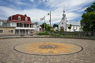 Wendake, Quebec - The Place de la nation huronne-wendat in Wendake