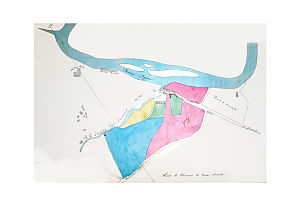 Thomas Young Hall - Fig.1. T.Y.Hall's Map of Stella, 1840