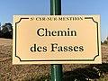 Plaque Chemin Fasses - Saint-Cyr-sur-Menthon (FR01) - 2020-10-31 - 1.jpg