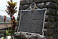 Plaque explaining the history of the rice terraces in Banaue.jpg