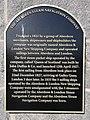 Plaque two Aberdeen Steam Navigation Company.jpg