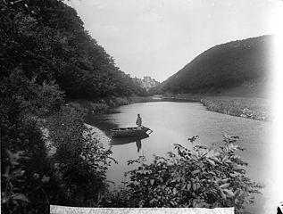 Plas Meudwy ferry and Cilgerran castle