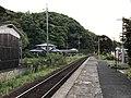 Platform of Tamae Station.jpg