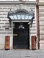 Podmaniczky mansion, entrance, Eotvos Street, 2016 Terezvaros.jpg