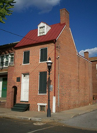 Edgar Allan Poe House and Museum - Edgar Allan Poe House and Museum in Baltimore, Maryland