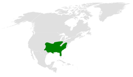 Poecile carolinensis distribution map.png