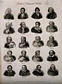 Poets and dramatists; twenty portraits. Engraving by J.W. Co Wellcome V0006825.jpg