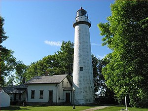 The Thumb - The Pointe aux Barques Light, near the tip of the Thumb.