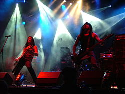 Poisonblack beim Summer Breeze 2007