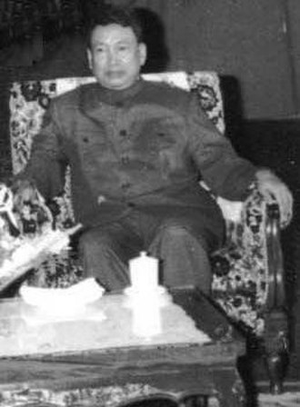 Khmer Rouge - Pol Pot, leader of the Khmer Rouge and Prime Minister of Democratic Kampuchea, in 1978