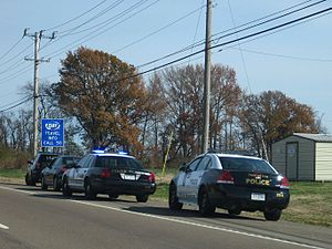 Civil forfeiture in the United States - A motorist stopped by police in Tennessee.