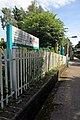 Pontcysyllte sign, Chirk railway station (geograph 4024221).jpg