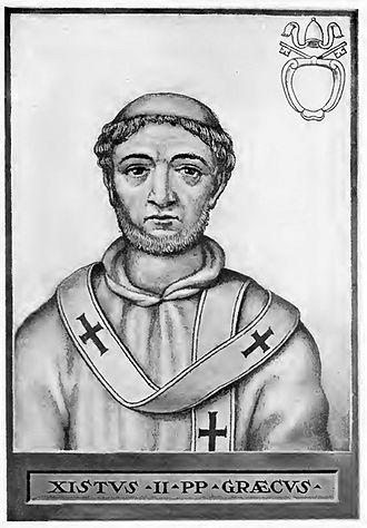 Pope Sixtus II - Image: Pope Sixtus II