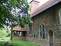 Porch at St Mary the Virgin Church, Easthorpe - geograph.org.uk - 1342228.jpg