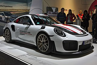 race-ready sports car version of the Porsche 911