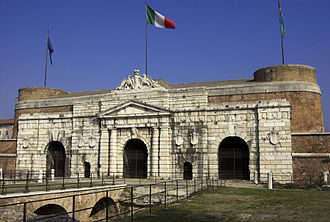 Fall of the Republic of Venice - The Porta Nuova of Verona, which opened its gates to Napoleon's troops on 1 June 1796.