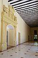 Portada renaixentista i galeria, palau Ducal de Gandia.JPG