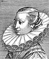 "Portrait from ""Variae comarum et bararum formae"", P. Galle Wellcome L0019791.jpg"