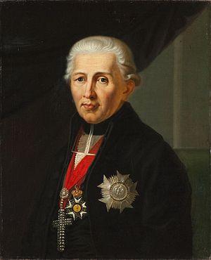 Karl Theodor Anton Maria von Dalberg - Portrait of Karl Theodor von Dalberg by Franz Stirnbrand, 1812