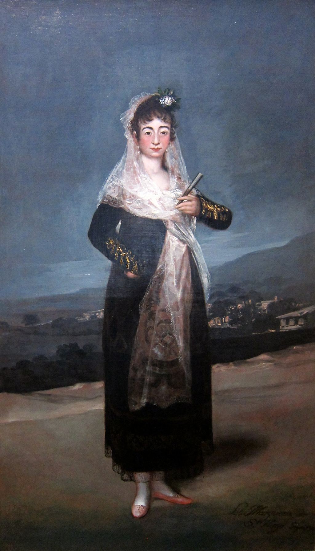 Portrait of the Marquesa de Santiago by Francisco de Goya, 1804, Getty Center
