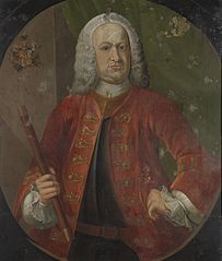 Portrait of Gustaaf Willem, Baron van Imhoff, Governor-General of the Dutch East India Company