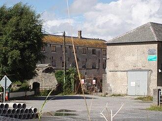 Portumna - Portumna Workhouse from the Ballinasloe road