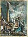 Power Station, Night by Preston Dickinson, 1924.jpg