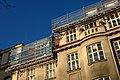 Praha, Staré město, 17 listopadu, rekonstrukce střechy III.jpg