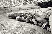 Pratt bivouac by Tom Frost