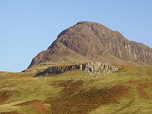 Talisker, Skye - Preshal More overlooks Talisker from the south