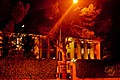 Presidency at night, Tirana, Albania 1.jpg