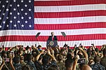 President Donald Trump speaks to U.S. service members overseas 170527-M-GL218-210.jpg