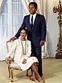 President Duvalier and Michèle Bennett.jpg