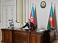 President Ilham Aliyev chaired a meeting in a video format on measures to fight coronavirus and the socio-economic situation.jpg