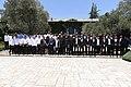 President Reuven Rivlin granting the «Shield of Honor» for the 2016-17 season, August 2017 (5281).jpg