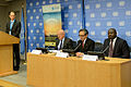 Press Briefing on the Conference with János Martonyi, Foreign Minister of Hungary ,Marty M. Natalegawa, Foreign Minister of Indonesia, and Lassina Zerbo, CTBTO Executive Secretary (9998849913).jpg