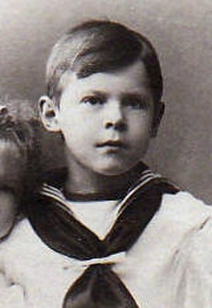 Gottfried, Prince of Hohenlohe-Langenburg - Prince Gottfried at the age of nine