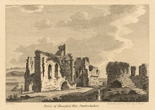 Priory of Haverfordwest, Pembrokeshire