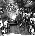 Pro-merger movement of French Settlements in India 1954.jpg