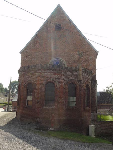 Proisy (Aisne) église (chevet)