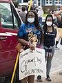 Protest against police violence - Justice for George Floyd (49942119257).jpg