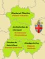 Province ecclésiastique de Clermont (Claromontanus).png