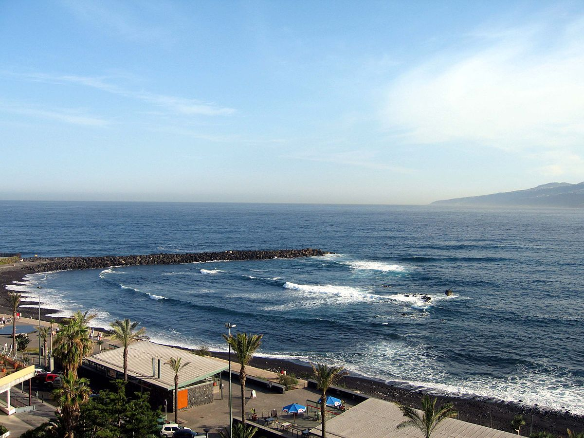 Puerto de la cruz wikimedia commons - Playa puerto de la cruz tenerife ...