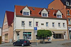 Bartholomäus Ziegenbalg - Pulsnitz, birthplace of Ziegenbalg (2013)