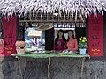 Quán dân dã - đường hoa Nguyễn Huệ.JPG